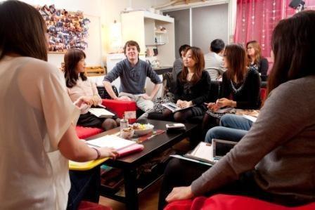中国語会話カフェの交流