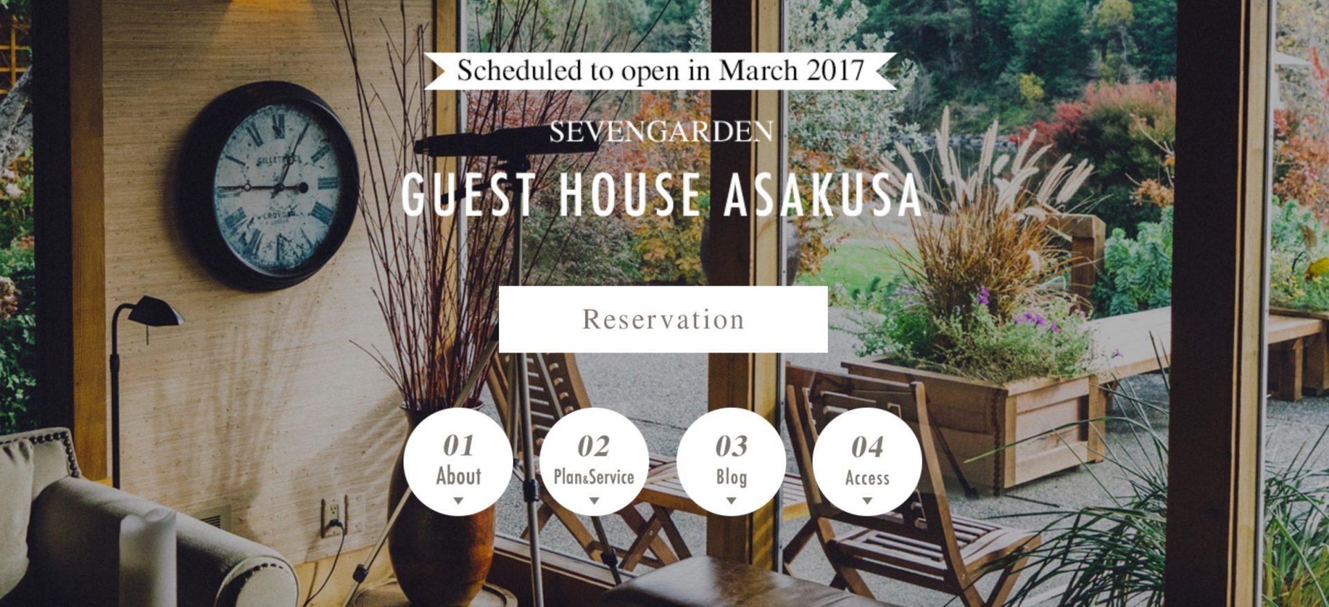Asakusa guesthouse sevengarden